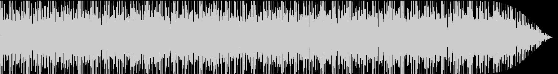 lofi・チル・ヒップホップの未再生の波形