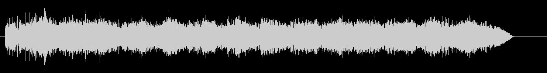 シンセスタブ付きドローン電子音ドローンの未再生の波形