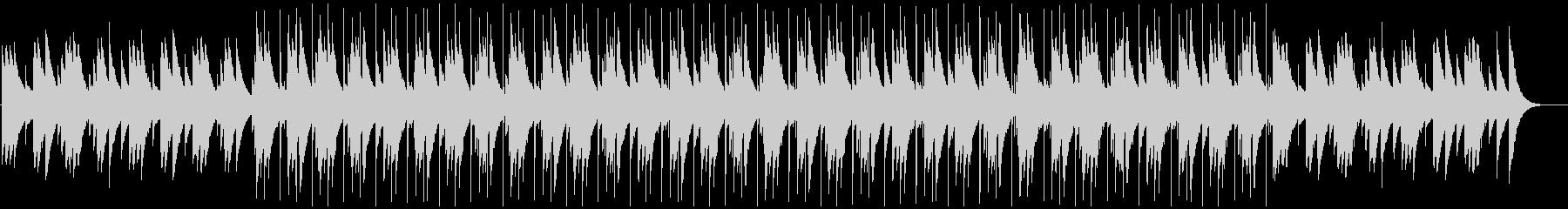 ドキュメンタリーに合うオルゴールBGMの未再生の波形