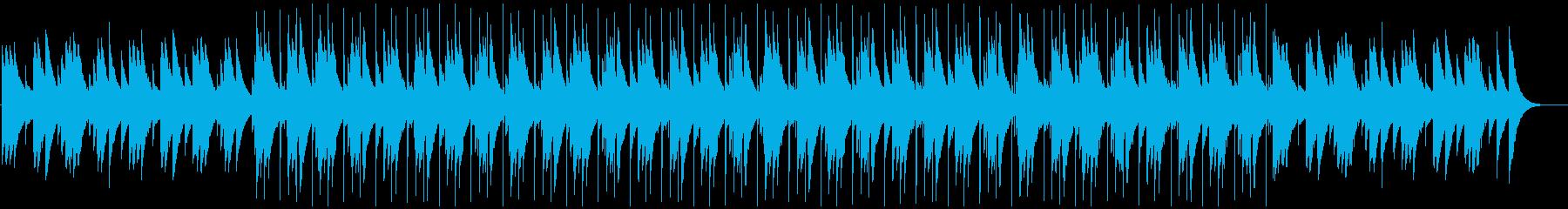 ドキュメンタリーに合うオルゴールBGMの再生済みの波形