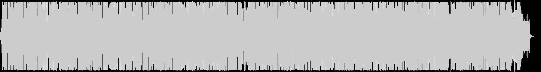 優しい雰囲気のボサノヴァ調曲の未再生の波形