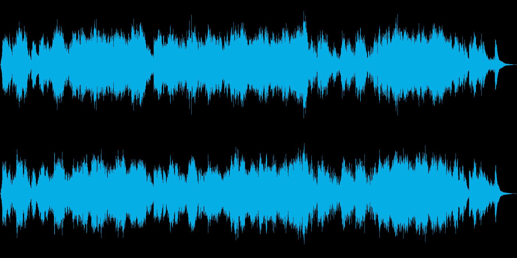 生演奏二胡による美しく儚いバラードの再生済みの波形