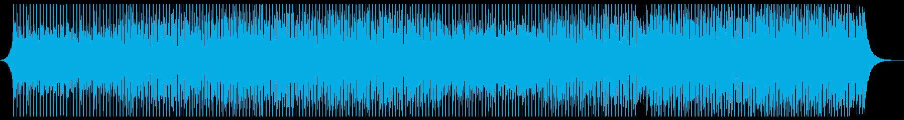 研究所教育の再生済みの波形