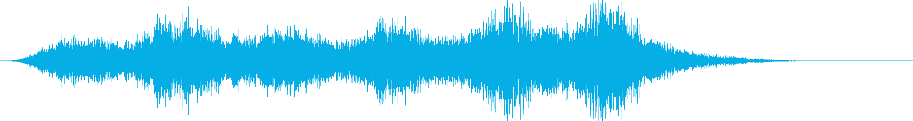 【ダークアンビエント】危険な予兆の再生済みの波形