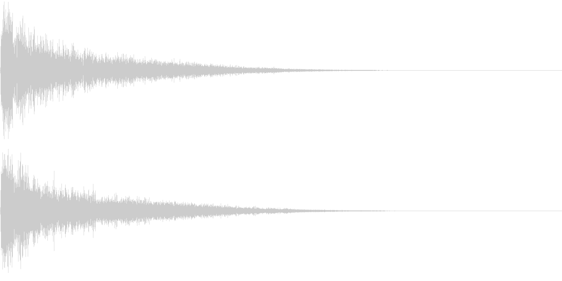 【サイバー】SFX_10 アタックの未再生の波形