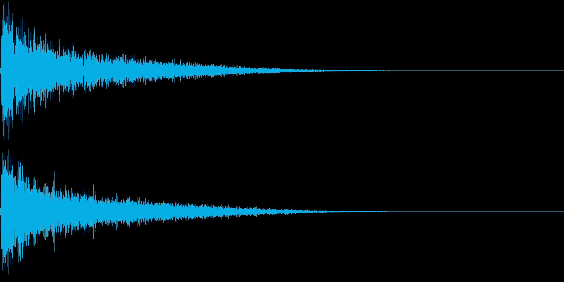 【サイバー】SFX_10 アタックの再生済みの波形