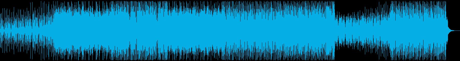 ほのぼの、しんみり、EDM風レゲエの再生済みの波形