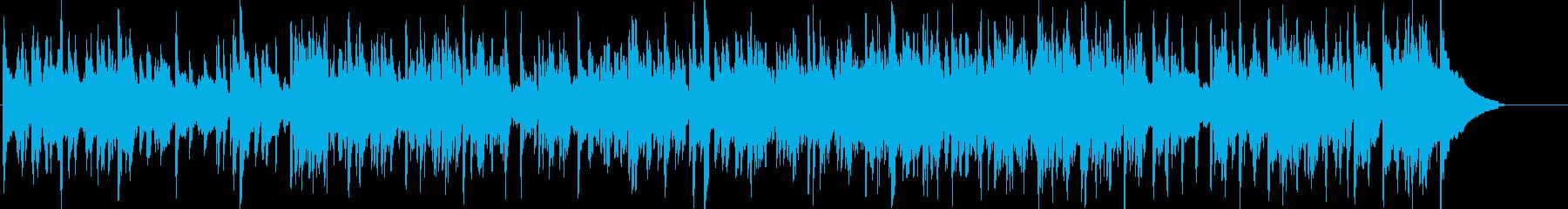 アコースティックギターによるフュージョンの再生済みの波形