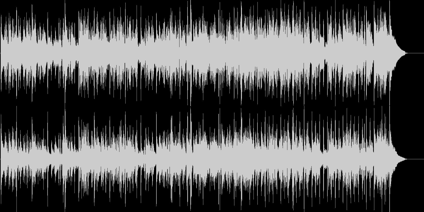 アコースティックギターによるフュージョンの未再生の波形