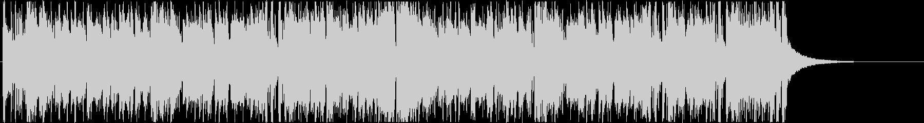 結果発表 ハイテンションなディスコ曲の未再生の波形