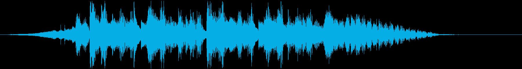 ギターのユニゾンが心地よいジングルの再生済みの波形