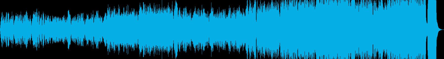 オーケストラ映像や表彰式の曲の再生済みの波形