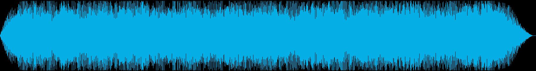コンピュータの空間に合う世界観の再生済みの波形