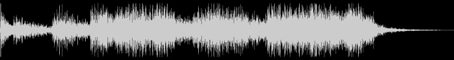 3.5秒ジングル トイピアノ+ジャズ の未再生の波形