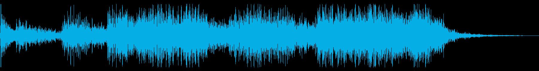 3.5秒ジングル トイピアノ+ジャズ の再生済みの波形