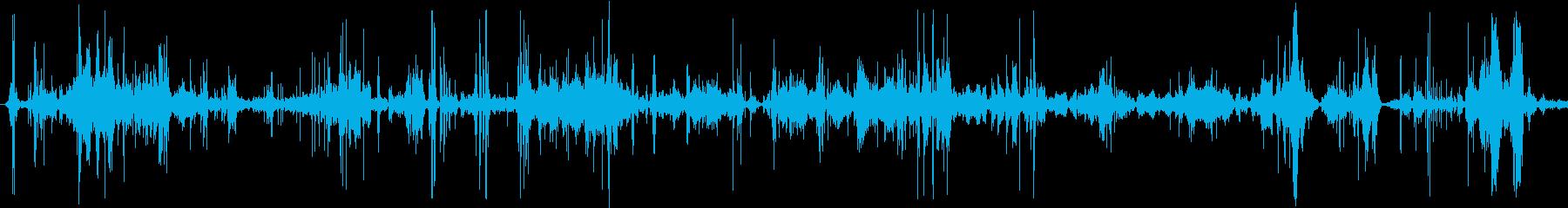 ジェットフロアでの蛇の動きの再生済みの波形