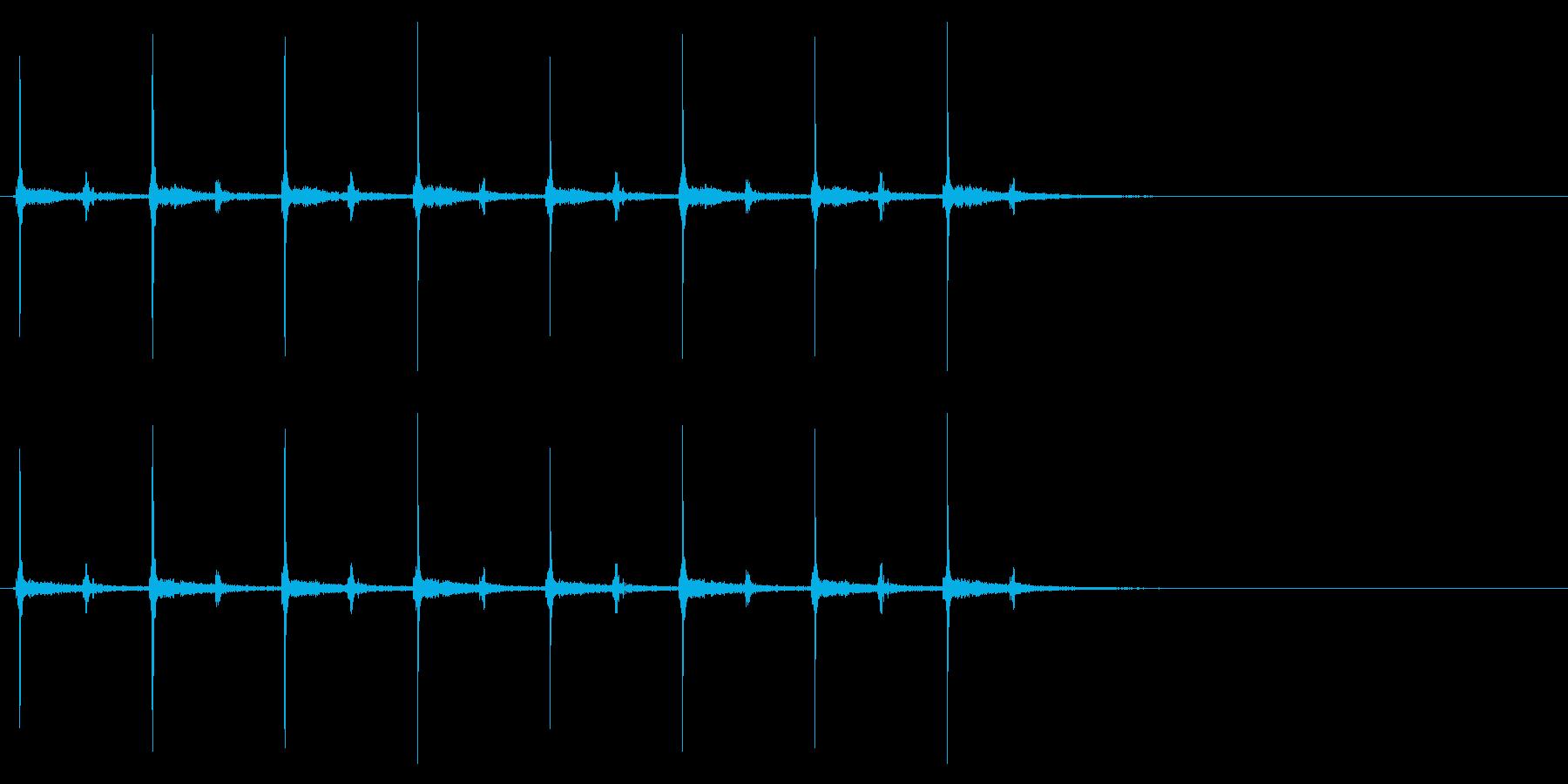 時計 秒針02-9(リバーブ 3)の再生済みの波形