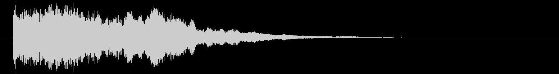 ホラーインパクトの未再生の波形