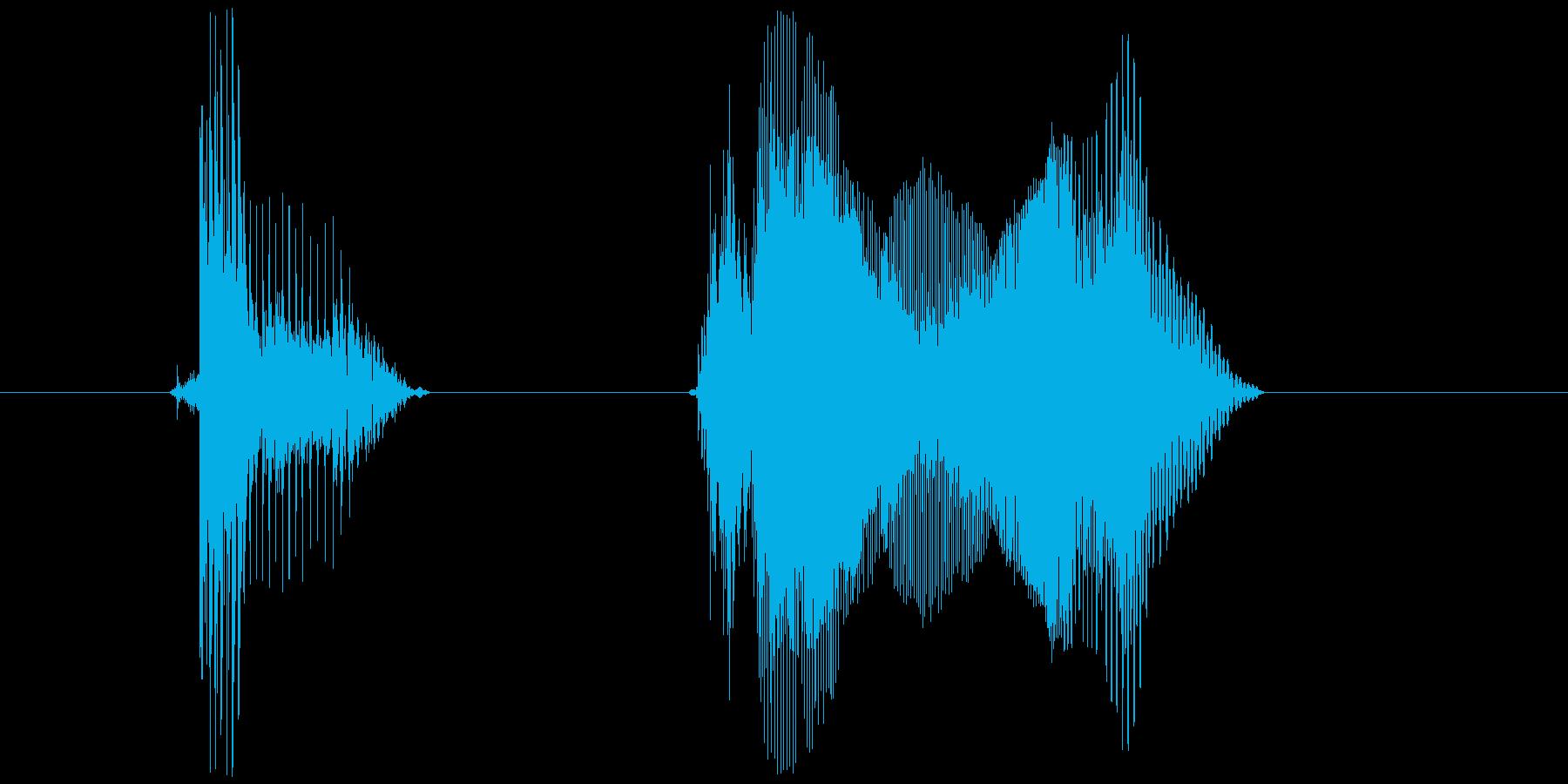 「バッ・キュン!」の再生済みの波形