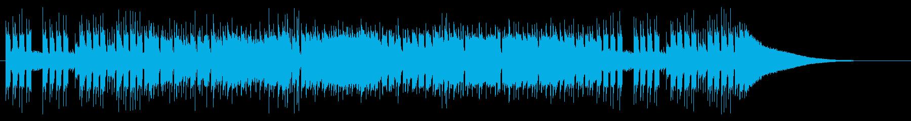 クールでアップテンポなギターポップの再生済みの波形
