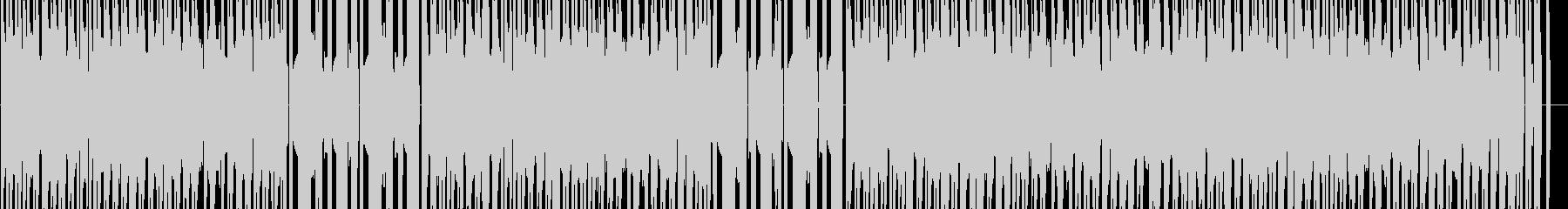 ファミコン和風アクションのショップの未再生の波形