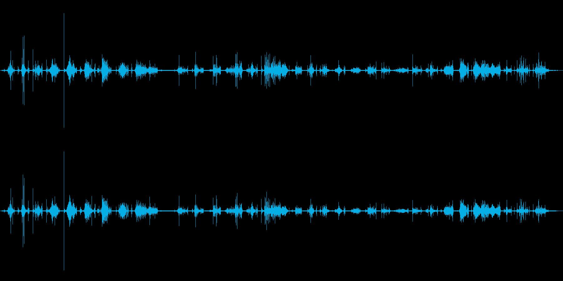 シェイブ:フェイスのシェービングク...の再生済みの波形