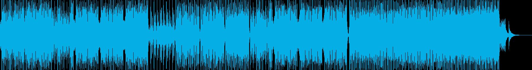 民族的で原始的なテクノポップ エレキ有の再生済みの波形