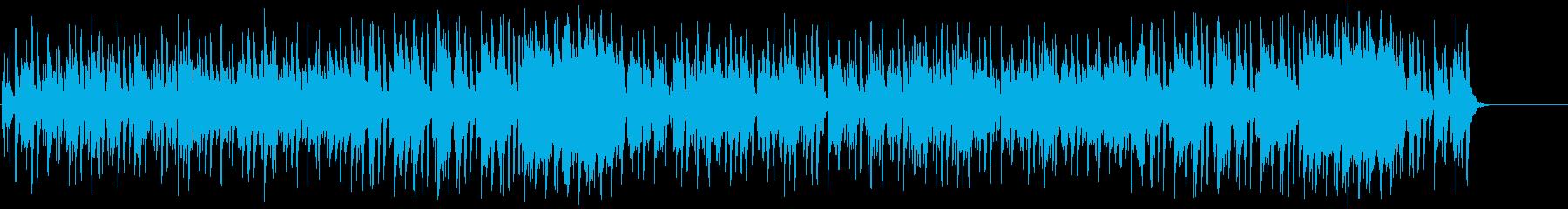 のんびりほのぼのムードのポップ/BGの再生済みの波形
