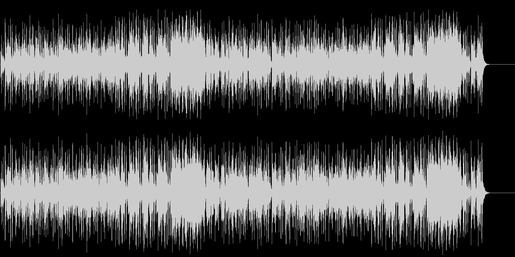 のんびりほのぼのムードのポップ/BGの未再生の波形