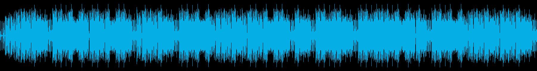トレイラーSF近未来電子パーカッションの再生済みの波形