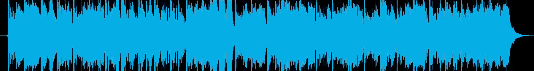 15秒CM向きの3 ストリングス・テクノの再生済みの波形