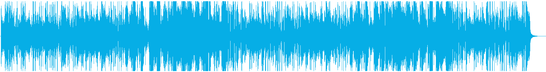 ジャズっぽいのんの再生済みの波形