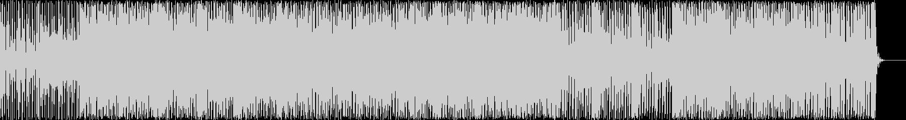 リズミカルでおしゃれな感じのBGMの未再生の波形