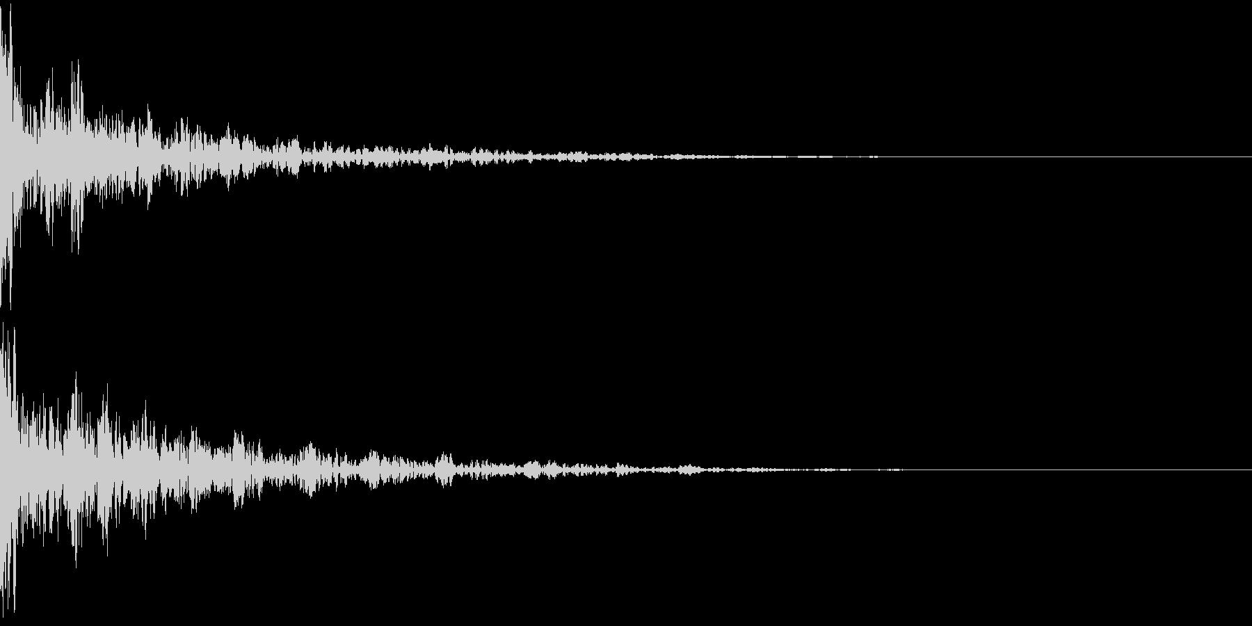 ドーン-49-2(インパクト音)の未再生の波形