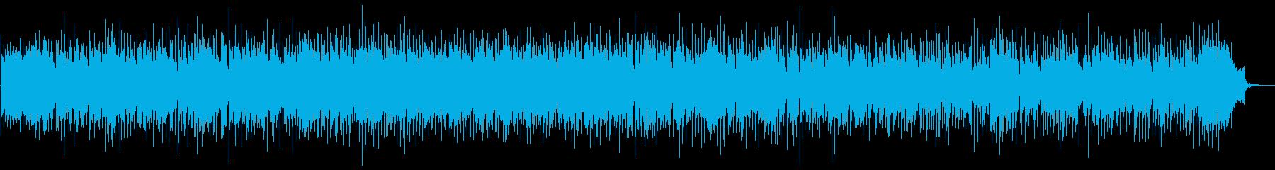 優しいアコーステックバラードの再生済みの波形