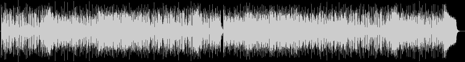 和テイストのあるポップなシンセ曲の未再生の波形