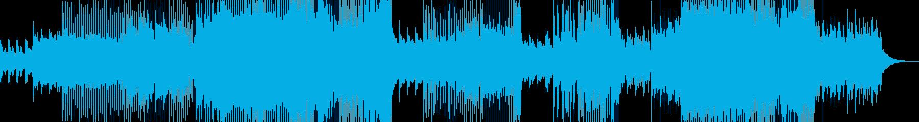 幻想的な夜明け・テクノポップ 前奏有りの再生済みの波形