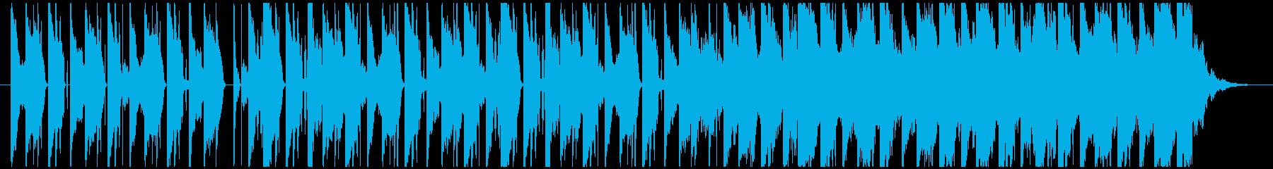 00年代R&B風のクールなBGMの再生済みの波形