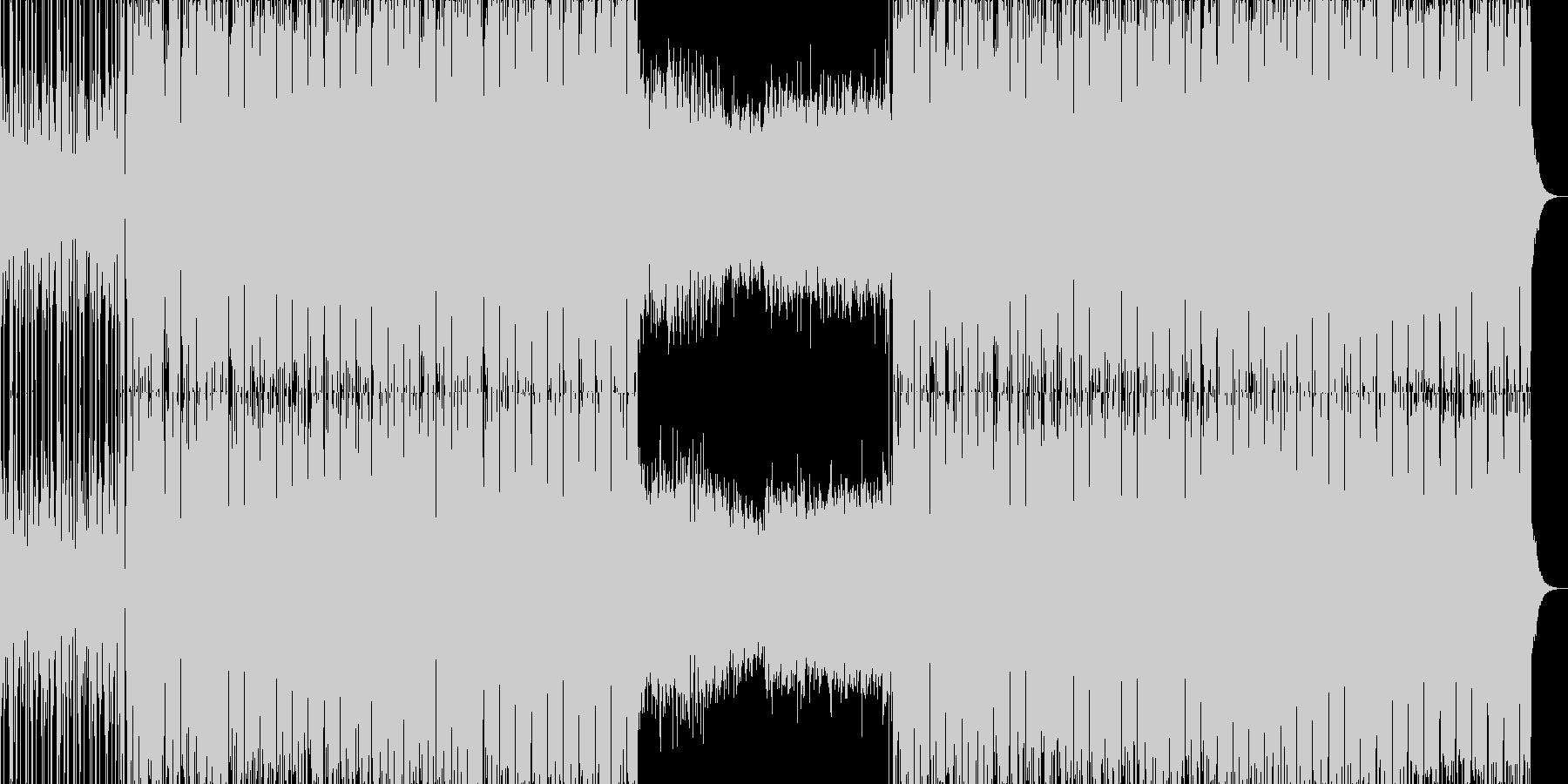 切なくて広がりのあるエレクトロニカ。の未再生の波形