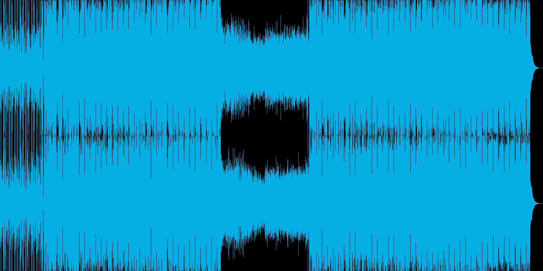 切なくて広がりのあるエレクトロニカ。の再生済みの波形
