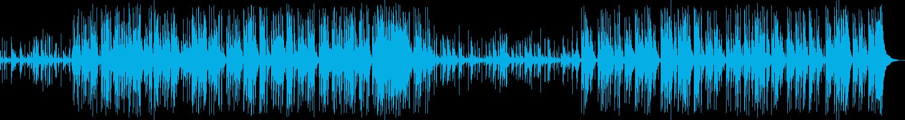 ベースの音色が心地よいモダンなジャズの再生済みの波形
