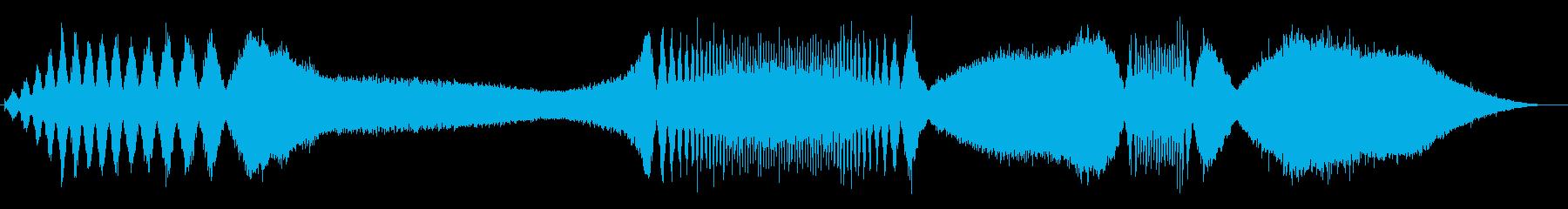 ノイズリップル、ウインドダウン、ア...の再生済みの波形