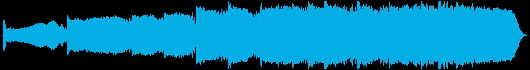 オーケストラ楽器インスピレーション...の再生済みの波形