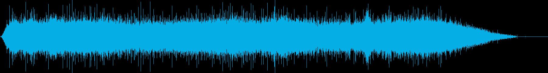 100 Mph以上で運転するコンパ...の再生済みの波形