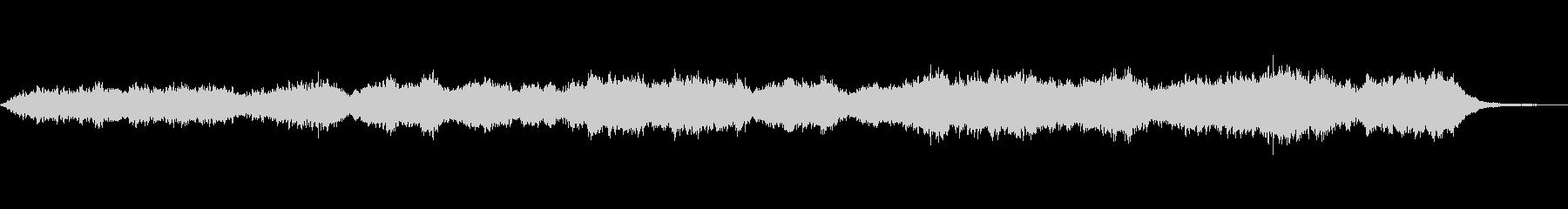 レトロシンセ系のダークなアンビエントの未再生の波形