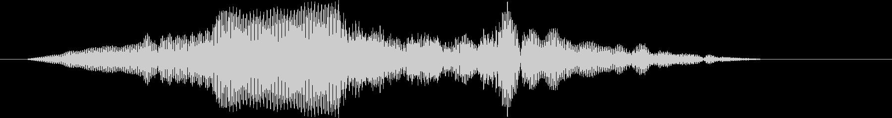 クイックフリーズローエンドランブル2の未再生の波形