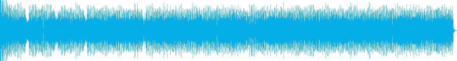 Nu Jazz トラックの再生済みの波形