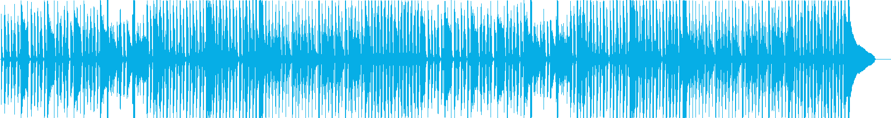 力が抜けるような呑気で平和なコミカル曲の再生済みの波形