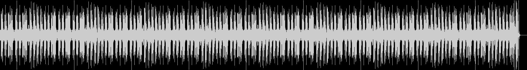 レトロな音色のピアノでガーシュインの名曲の未再生の波形