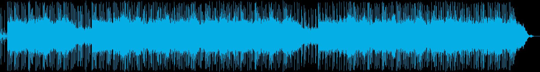遠き道のりを歩く曲の再生済みの波形